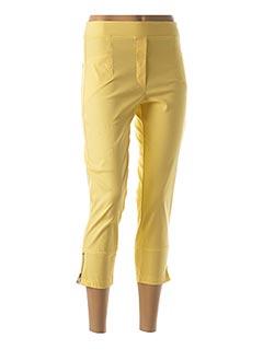 Jegging jaune HALOGENE pour femme