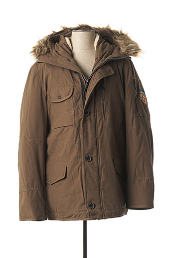 Parka vert CAMBE pour homme