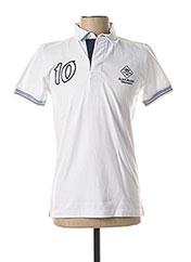 T-shirt manches courtes blanc CAMBERABERO pour homme seconde vue