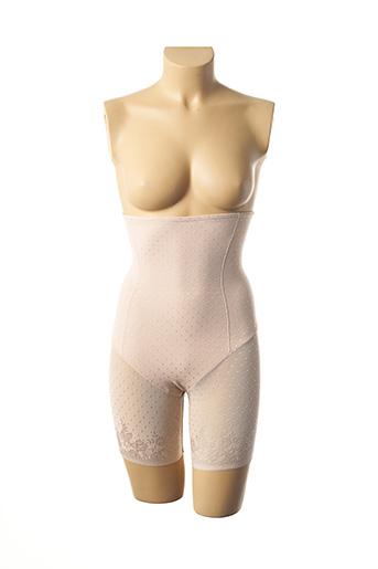 Culotte gainante beige JANIRA pour femme