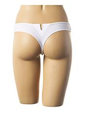String/Tanga blanc SIMONE PERELE pour femme seconde vue