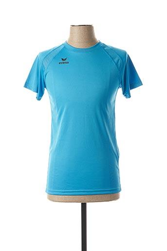 T-shirt manches courtes bleu ERIMA pour femme