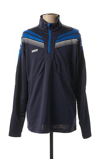 Sweat-shirt bleu JAKO pour homme