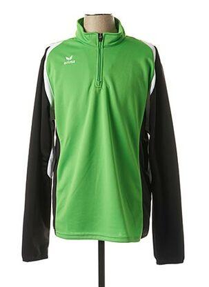 T-shirt manches longues vert ERIMA pour homme