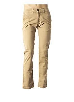 Pantalon casual beige CAMBERABERO pour homme