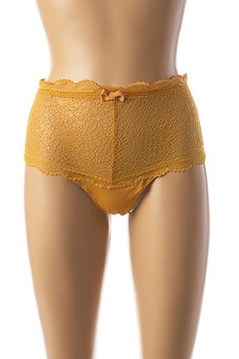 Shorty/Boxer jaune DARJEELING pour femme