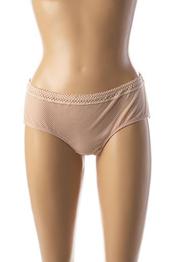 Shorty/Boxer beige DARJEELING pour femme