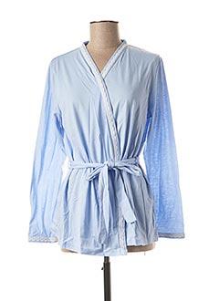 Robe de chambre bleu DAMART pour femme