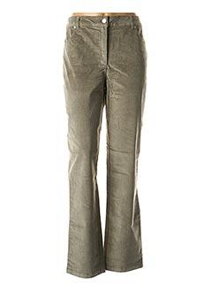 Pantalon casual vert DAMART pour femme