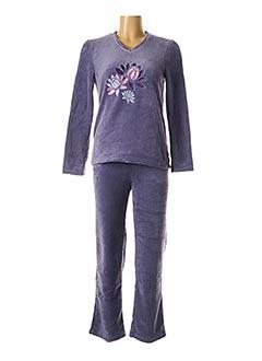 Pyjama violet DAMART pour femme