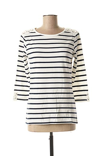 T-shirt manches longues blanc DAMART pour femme