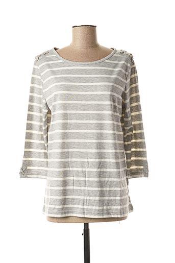 T-shirt manches longues gris DAMART pour femme
