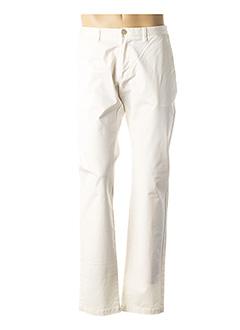 Pantalon casual beige JOHN BARRITT pour homme