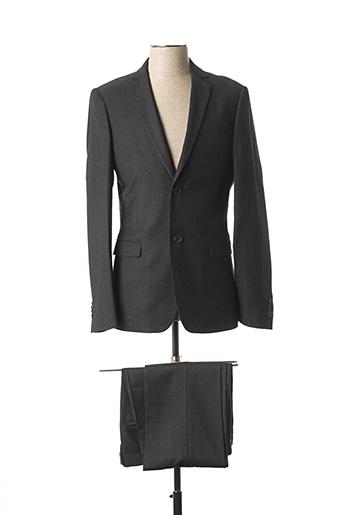 Veste/pantalon gris JOHN BARRITT pour homme