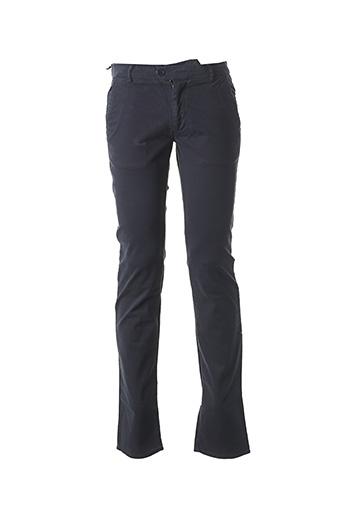Pantalon casual bleu BILL TORNADE pour homme