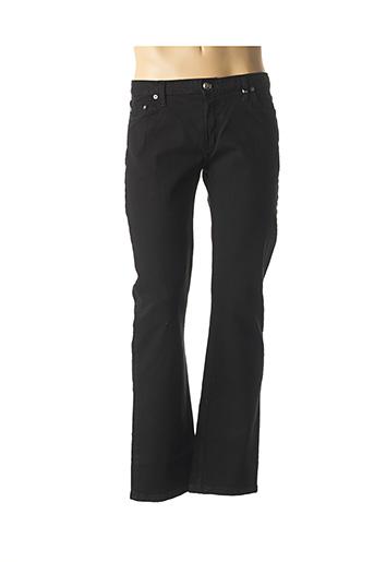 Pantalon casual noir BOX-OFFICE pour homme