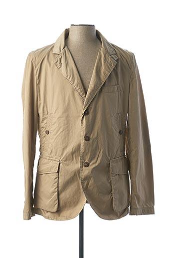 Veste chic / Blazer beige JOHN BARRITT pour homme