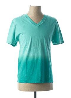 T-shirt manches courtes bleu CALIFORNIAN VINTAGE pour homme