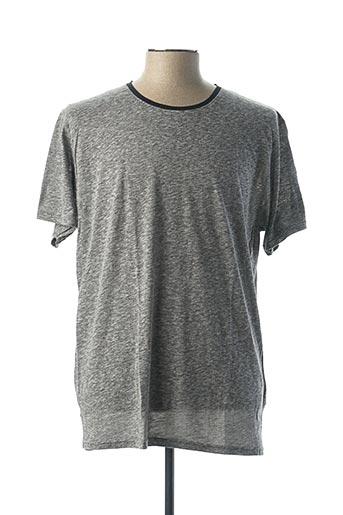 T-shirt manches courtes gris BILL TORNADE pour femme