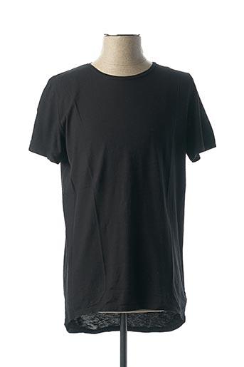 T-shirt manches courtes noir VNECK pour homme