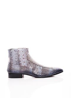 Bottines/Boots bleu JO GHOST pour homme