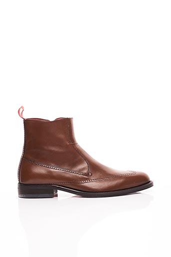 Bottines/Boots marron KOIL pour homme