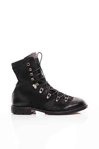 Bottines/Boots noir A.S.98 pour homme