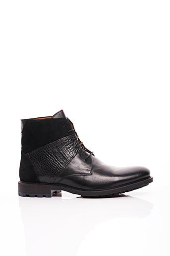 Bottines/Boots noir ERIC FILLIAT pour homme