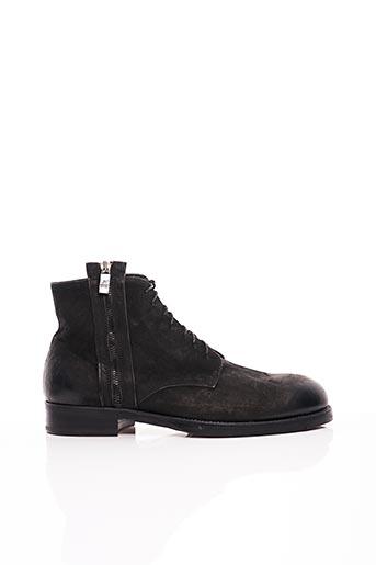 Bottines/Boots noir JO GHOST pour homme