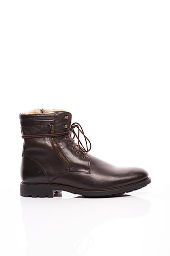 Chaussons/Pantoufles marron JO GHOST pour homme