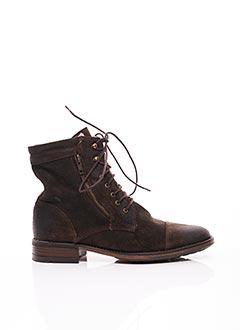 Bottines/Boots marron ERIC FILLIAT pour femme