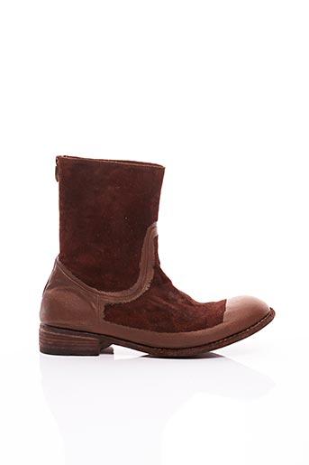 Bottines/Boots marron FAUZIAN JEUNESSE pour homme