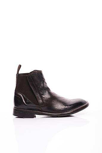 Bottines/Boots marron LEMARGO pour homme