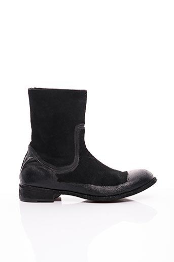 Bottines/Boots noir FAUZIAN JEUNESSE pour homme