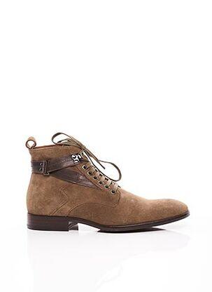 Bottines/Boots beige PAUL & JOE pour homme