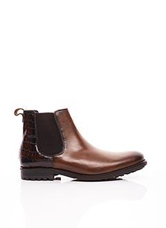 Bottines/Boots marron ERIC FILLIAT pour homme