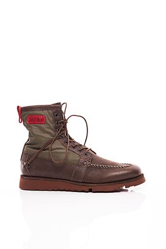 Bottines/Boots marron BIKKEMBERGS pour homme