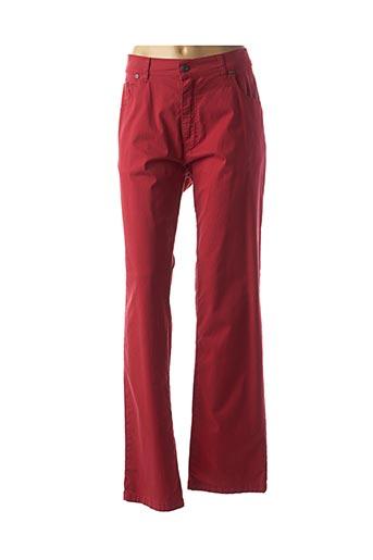 Pantalon casual rouge LCDN pour homme