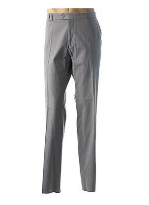 Pantalon casual gris GIANNI MARCO pour homme