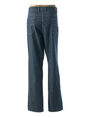 Jeans coupe droite bleu LCDN pour homme seconde vue
