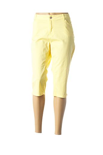 Corsaire jaune C'EST BEAU LA VIE pour femme