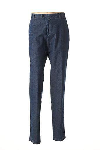 Pantalon casual bleu GIANNI MARCO pour homme