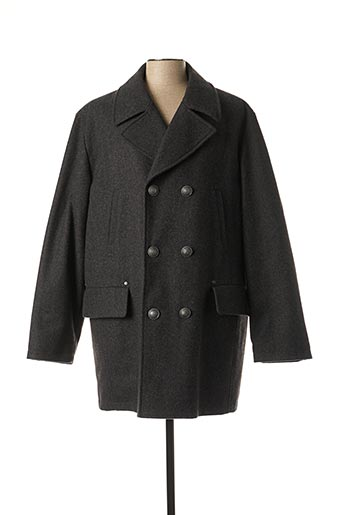 Manteau long gris DIGEL pour homme