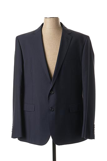 Veste chic / Blazer bleu KURT & KROSS LONDON pour homme