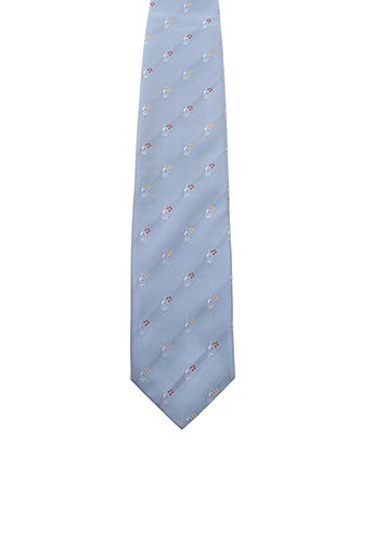 Cravate bleu FRED GIL pour homme