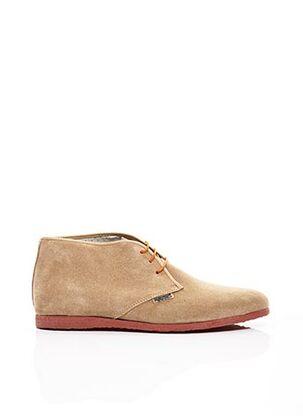 Bottines/Boots beige ARTON SHOES pour homme