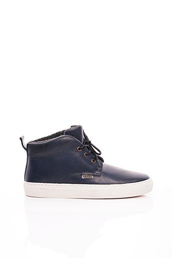 Bottines/Boots bleu ARTON SHOES pour homme