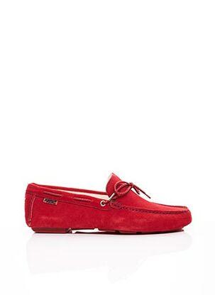 Chaussures bâteau rouge ARTON SHOES pour homme