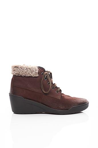 Bottines/Boots marron ALTEA pour femme