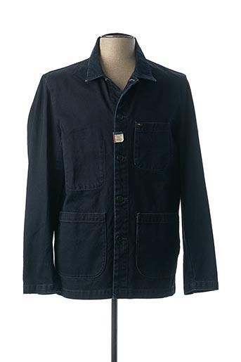 Veste casual bleu TOMMY HILFIGER pour homme